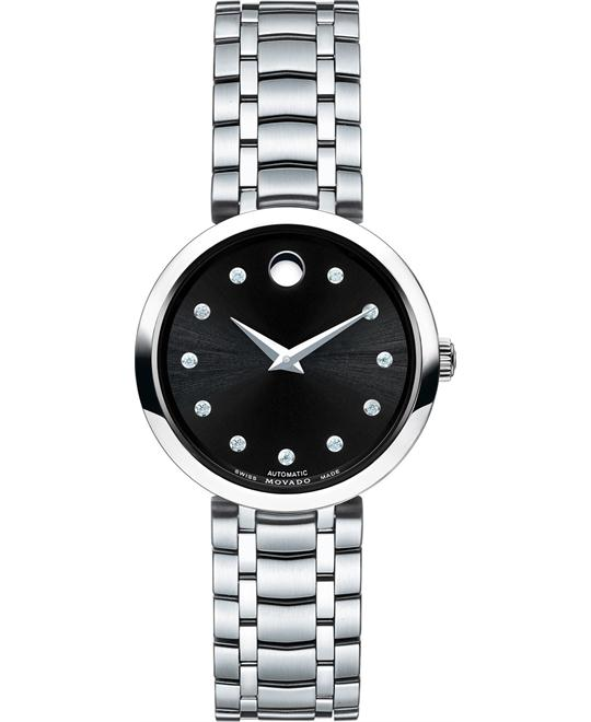 MOVADO 1881 Automatic Diamonds watch  27mm