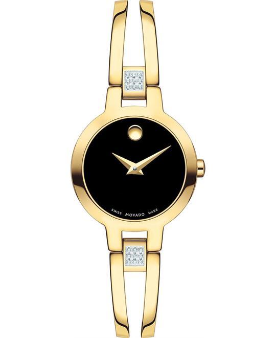 đồng hồ nữ Movado Amorosa Diamonds Swiss Watch 24mm