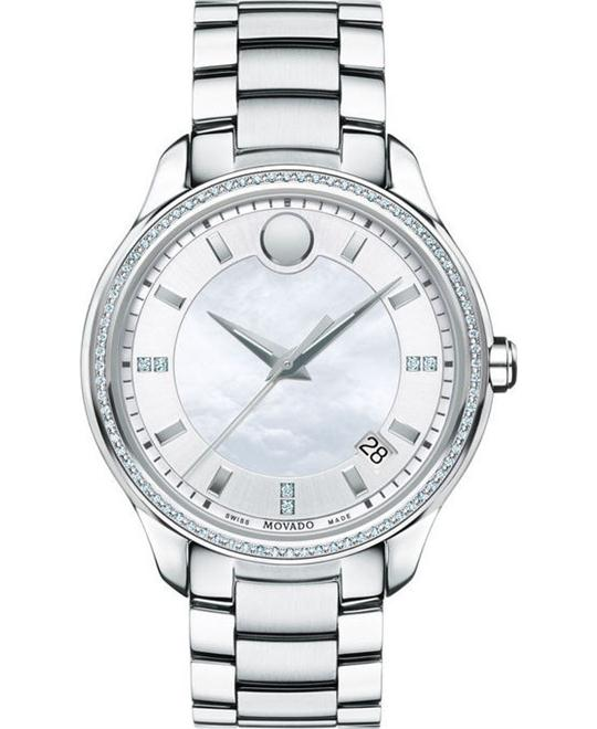 Movado Bellina White Mother Of Pearl Watch 36mm