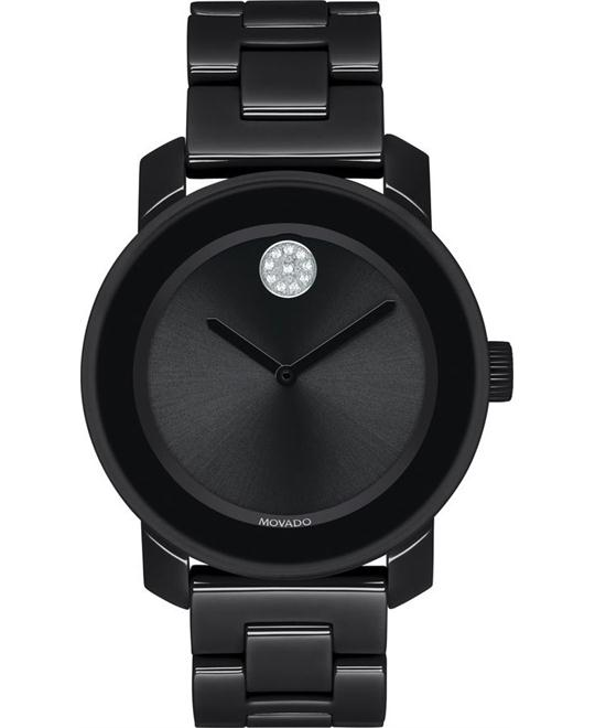 Movado Bold Black Women's Watch 36mm