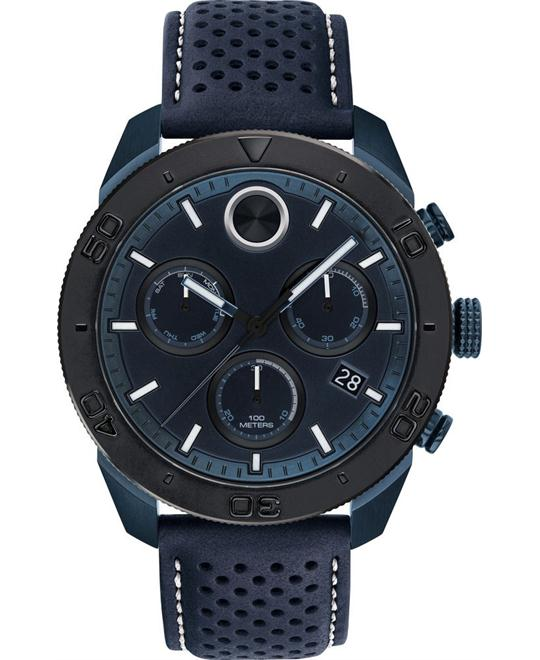 Movado Bold Blue Men's Watch 44.5mm