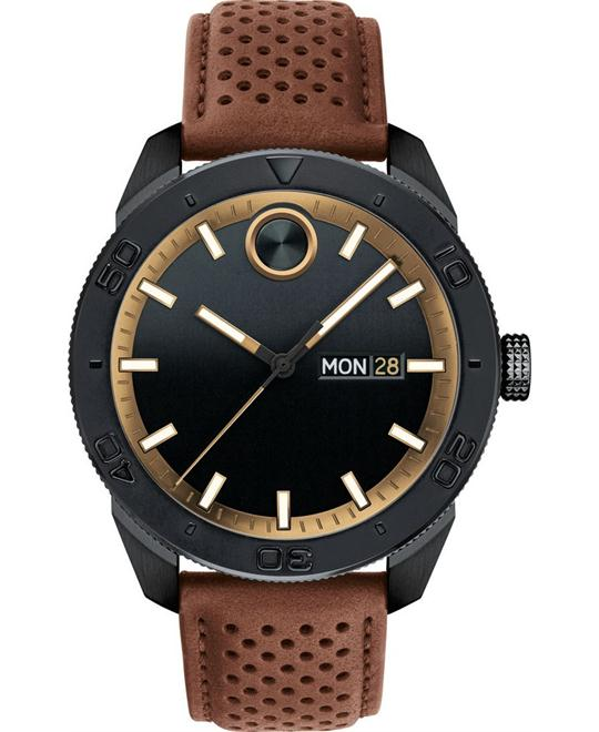 Movado Bold Brown Men's Watch 43.5mm