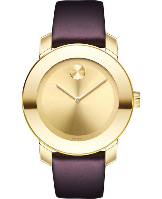 MOVADO Bold Carnation Gold Watch 36mm