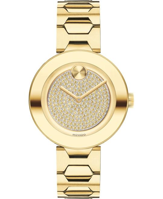 MOVADO Bold Crystal Pave Watch 32mm