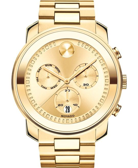 Movado Bold Gold Men's Watch 48mm