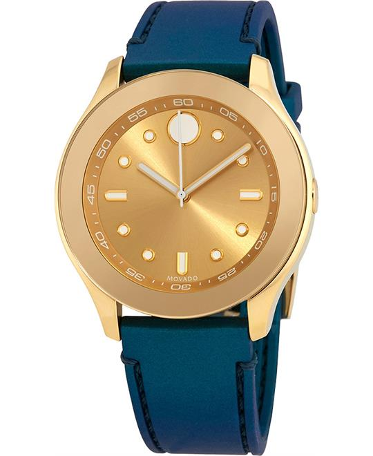 Movado Bold Gold-Tone Ladies Watch 38mm
