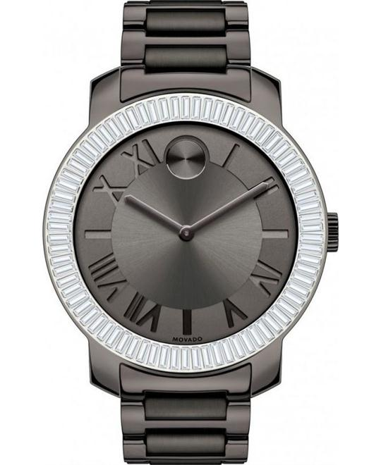 Movado Bold Gunmetal Ion-plated Ladies Watch 39mm