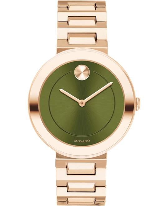 Movado Bold Ionic Carnation Watch 34mm