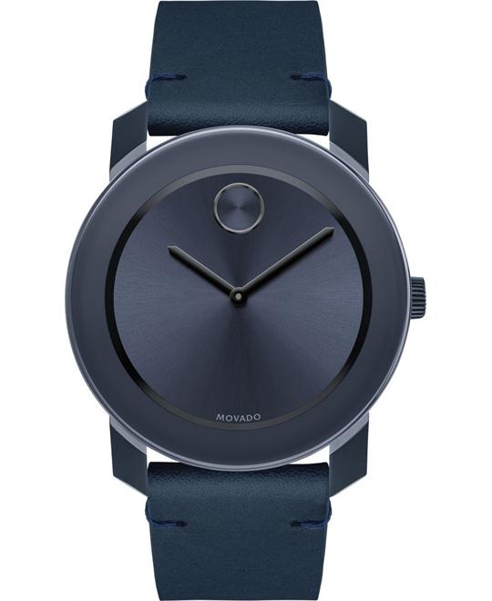 Movado BOLD Navy TR90 Large Watch 42mm