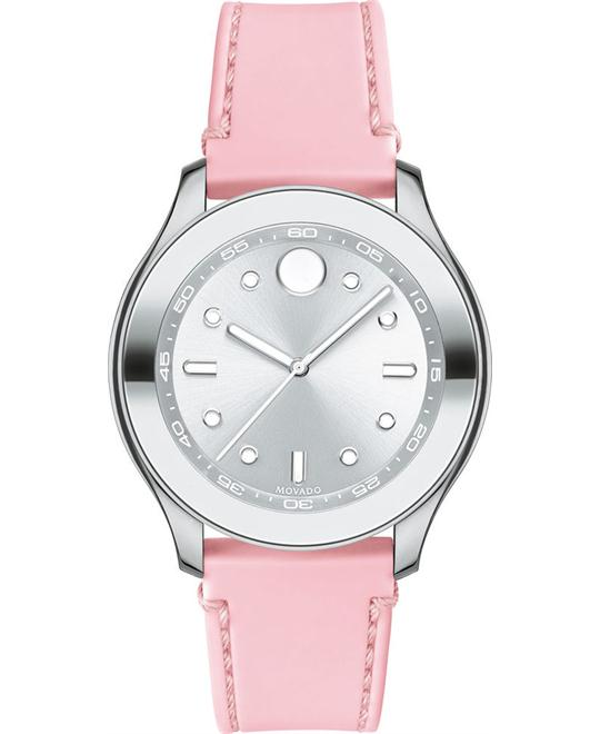 MOVADO Bold Pink Silicone Ladies Watch 38mm