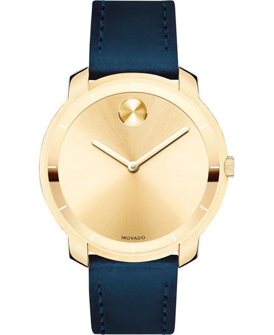 Movado Bold Sunray Gold Watch 36mm