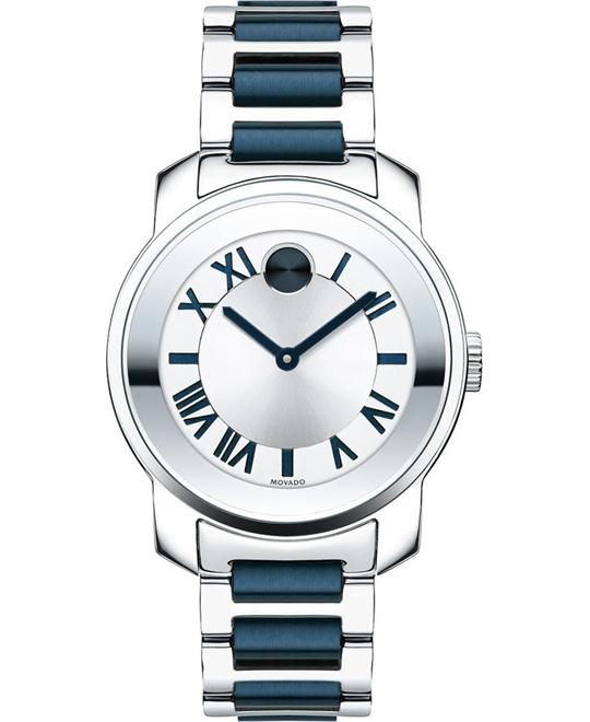 MOVADO Bold Silver Ladies Watch 32mm