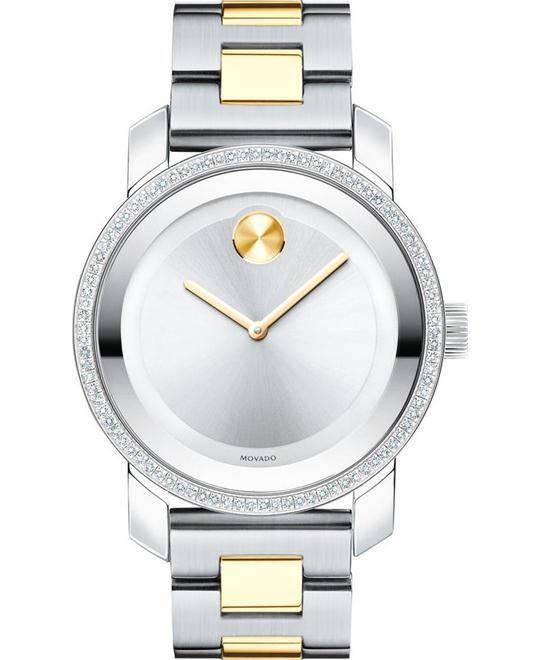 Movado Bold Silver Women's Watch 36mm