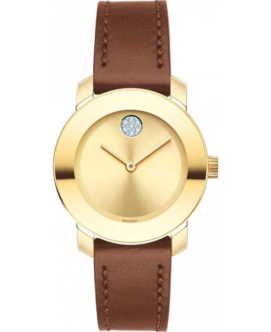 Movado Bold Smaller Midsize Watch 30mm
