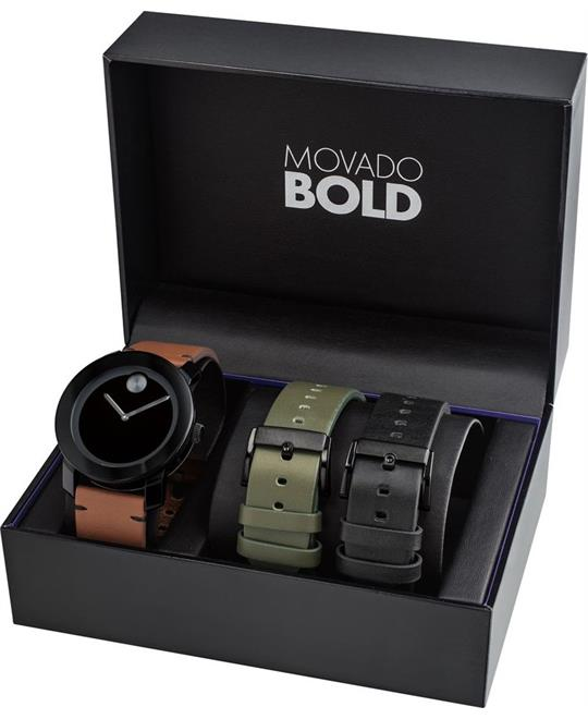 Movado Bold TR90 Watch Set 42mm