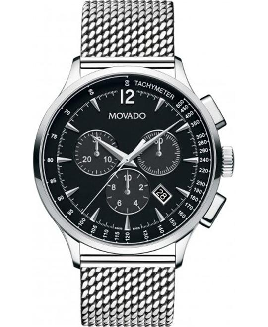MOVADO Circa Mesh Mens Watch 42mm
