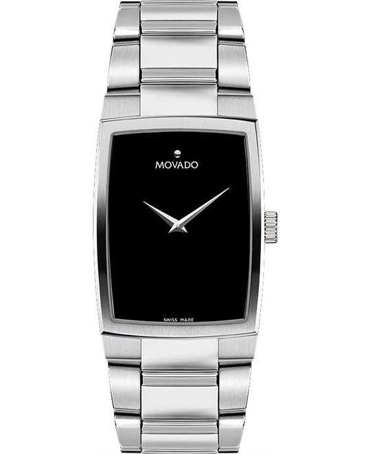 Movado Eliro Black Watch 29.15 x 38.65mm