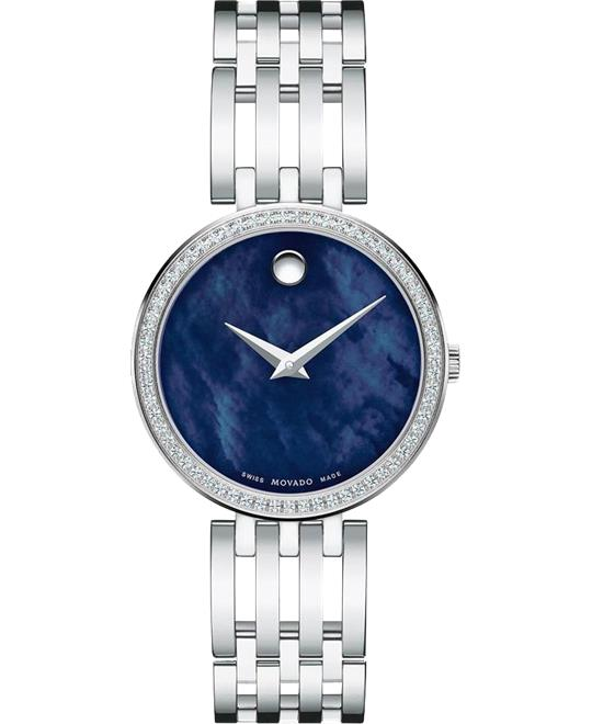 Movado Esperanza Diamond Ladies Watch 28mm