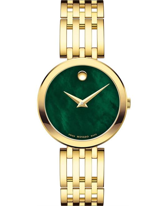 Movado Esperanza Green Dial Watch 28mm