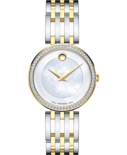 MOVADO ESPERANZA MATTE LADIES WATCH 28MM