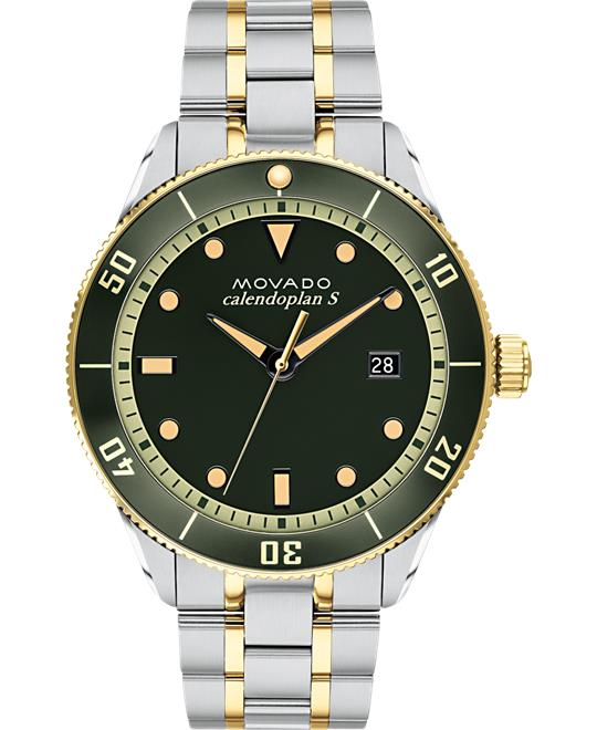 dong ho Movado Green Watch 43mm
