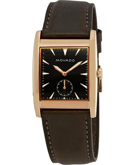 Movado Heritage Black Dial Watch 41mm
