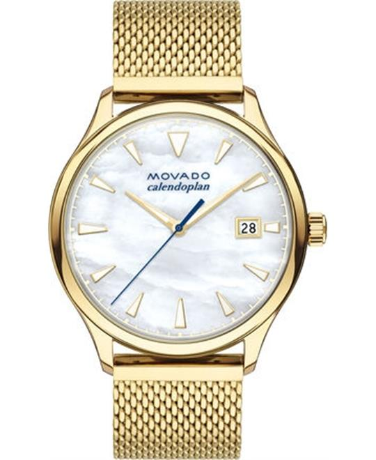 Movado Heritage Series Calendoplan Watch 36mm