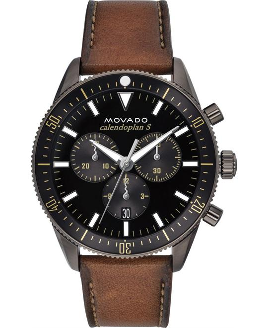 MOVADO HERITAGE SERIES MEN'S WATCH 42MM