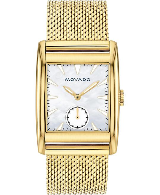 Movado Heritage White Mother of Pearl Watch 38mm