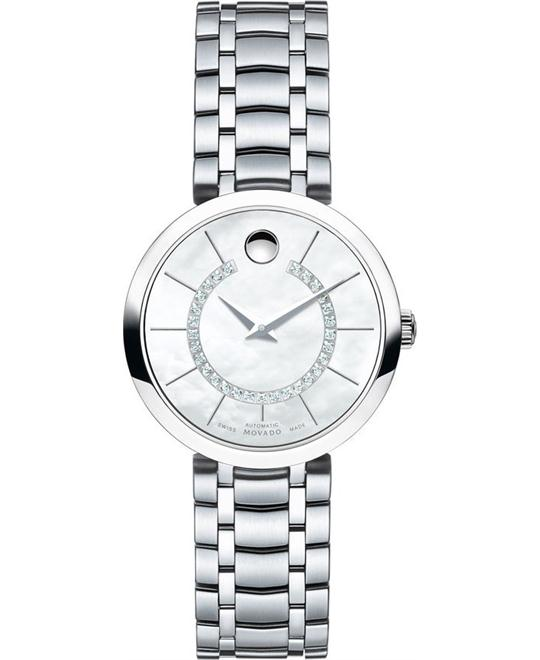 MOVADO 1881 Automatic 29 Diamonds Ladies Watch 27mm