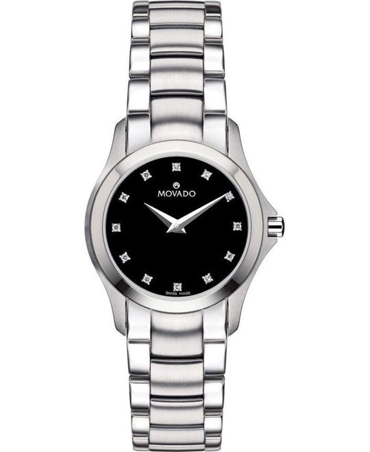 Movado Masino Museum Black Watch 26mm