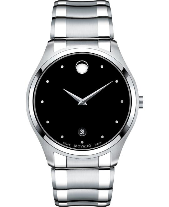 Movado Celo Swiss Stainless Watch 40mm