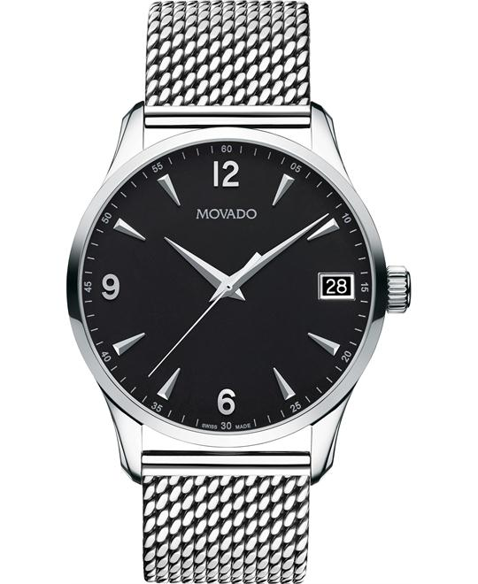 Movado Circa Swiss Mesh Men's Watch 40mm
