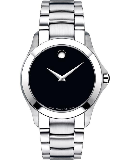 Movado Masino Black Dial Men's Watch 38mm