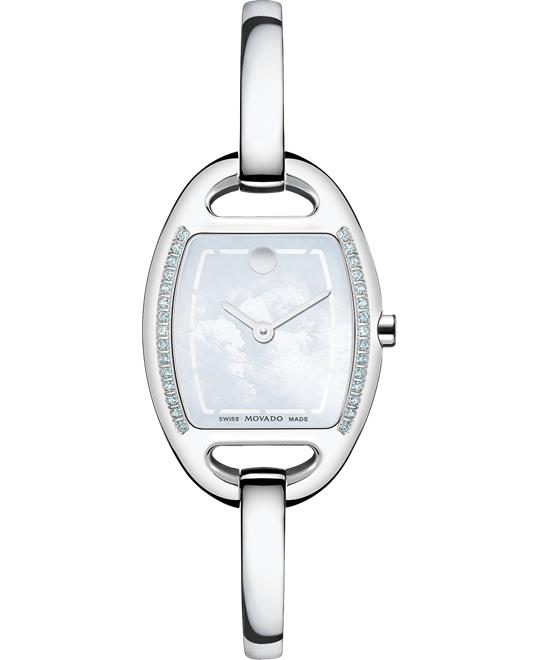 Movado Miri Diamond Swiss Watch 24mm