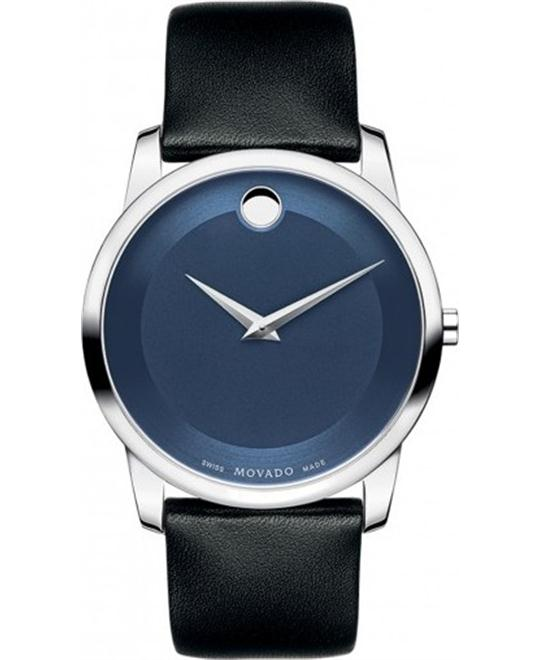 MOVADO Museum Blue Mens Watch 40mm