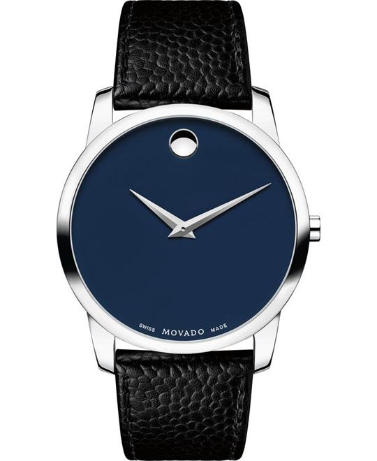 MOVADO Museum Blue Men's Watch 40mm