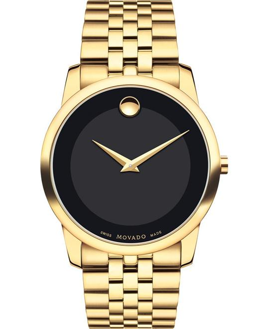 MOVADO Museum Classic Black PVD Watch 40mm