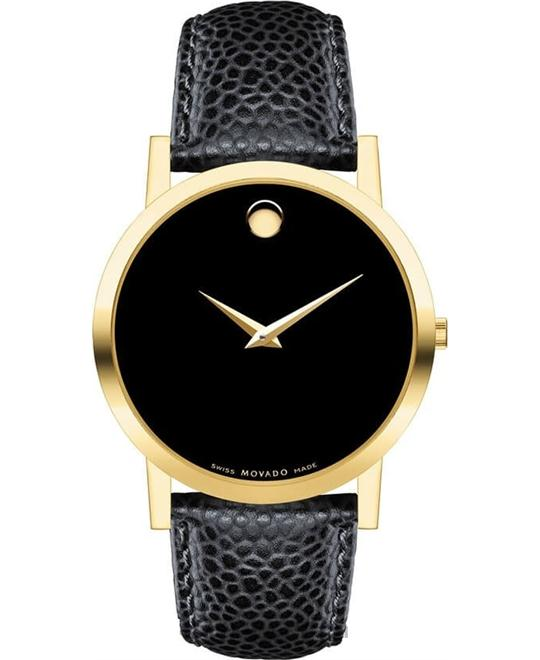 MOVADO Museum Classic Black Watch 38mm