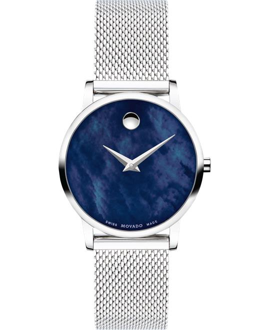 Movado Museum Classic Blue Watch 28mm