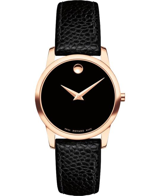 Movado Museum Classic PVD Watch 28mm