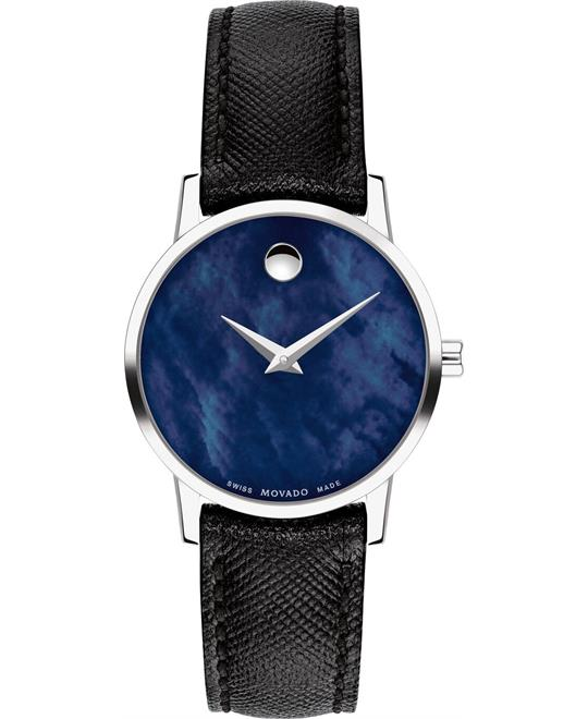 đồng hồ nữ Movado Museum Classic Watch 28mm