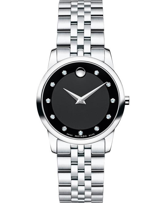 MOVADO Museum Diamond Women's Watch 28mm