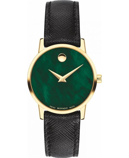 Movado Museum Green Watch 28mm