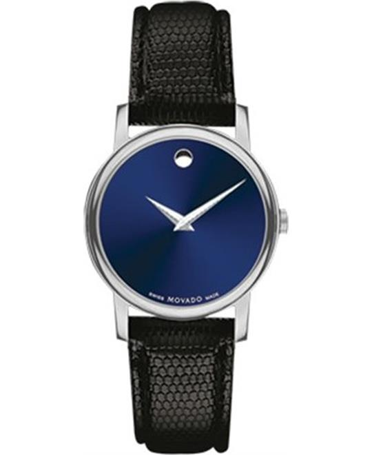 Movado Museum Leather Watch 26mm
