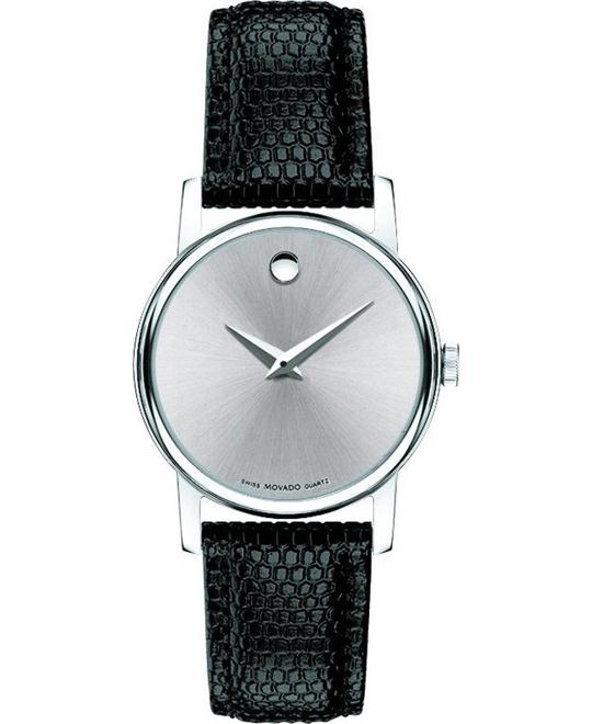 Movado Museum Silver Ladies Watch 26mm