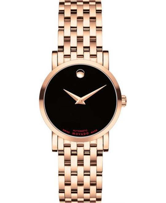 Movado Red Label Automatic Women's Watch 26 mm
