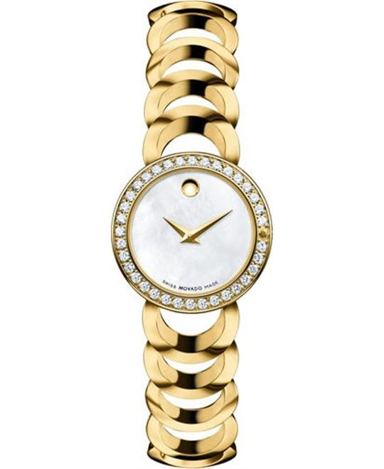 Movado Rondiro Diamond Museum Watch 22mm