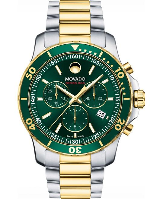 đồng hồ Movado Series 800 Green Men's Watch 42mm