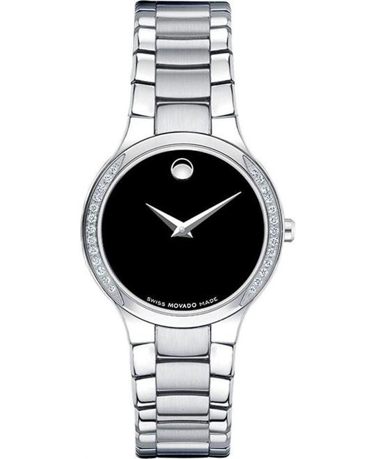 MOVADO Serio Quartz Ladies Watch 26mm